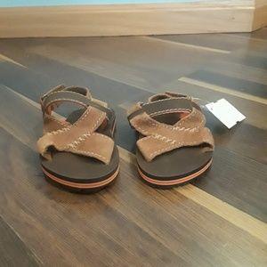 Gap leather boys sandals